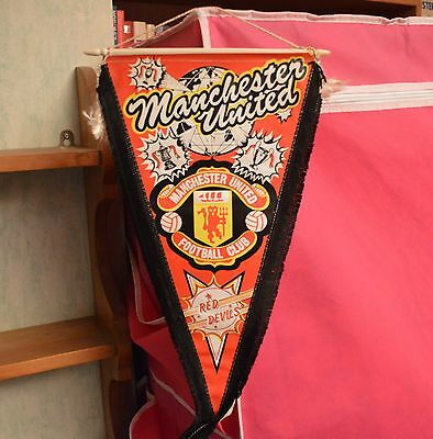 Manchester United Fc Red Devils Pennant