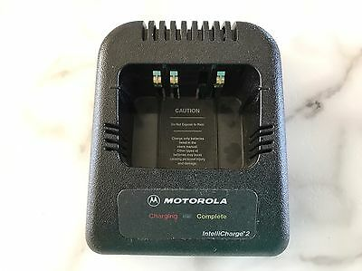 Motorola IntelliCharge 2 Charger  RPX4747A  Cradle Only No AC Adapter