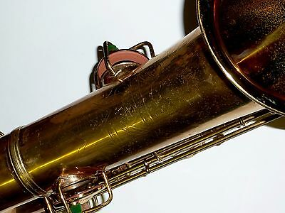 Vintage Conn NAKED LADY TRANSITIONAL PRE 10M Tenor sax new pads