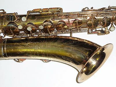 Vintage professional Holton 241 tenor saxophone