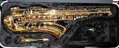 Vintage B&H 400 Tenor saxophone made in Czechoslovakia needs overhaul