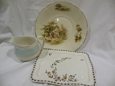 A collection of 3 Alfred Meakin pottery