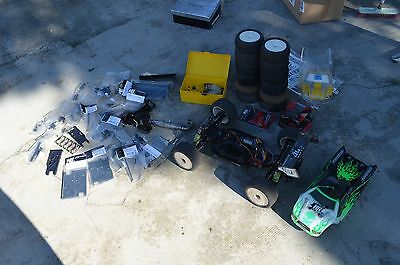 Truggy brushless Hot Bodies D8T