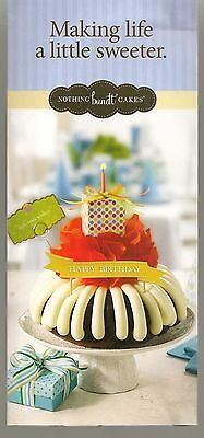 Nothing Bundt Cakes Making Life A Little Sweeter Brochure