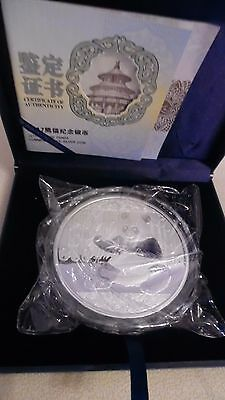 Silber Münze 1KG 300 yuan Panda PLATED-Silver Coin 1KG 300 yuan Panda PLATED