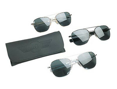"""10701 General Government Air Force Pilot Sunglasses by """"American Optics"""""""