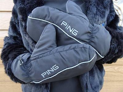 Ping Golf - Gents Deluxe Winter Mittens + FREE Ping Tour Tees