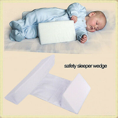 Infant Sleep Pillow Support Wedge Adjustable Width Anti Roll Cushion Tool