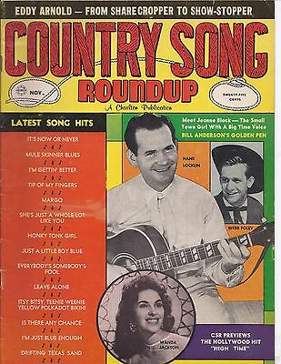 Country song Roundup #69 Nov 1960