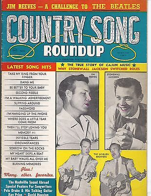 Country song Roundup #86 Nov 1964