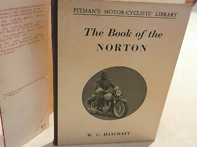 THE BOOK OF THE NORTON by PITMAN'S Hard Back with Cover