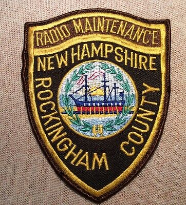 NH Rockingham County New Hampshire Radio Maintenance Patch