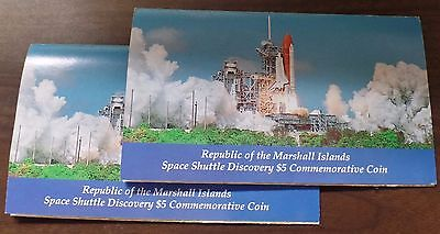 Republic of the Marshall Islands | Space Shuttle Discovery $5 Commemorative Coin