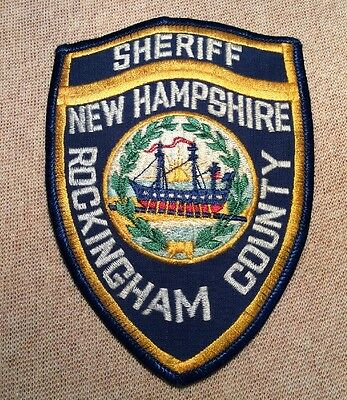 NH Rockingham County New Hampshire Sheriff Patch
