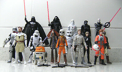 Star Wars  Figures Collection NEW CONDITION MINT  FIGURAS COLECCION