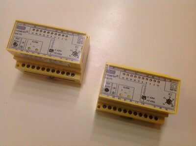2 X Bender Isometer Insulation Monitoring Device IR470LY-40