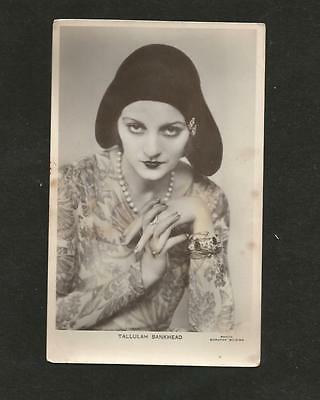 "Tallulah Bankhead ""picturegoer"" Rp Postcard Photo Dorothy Wilding"
