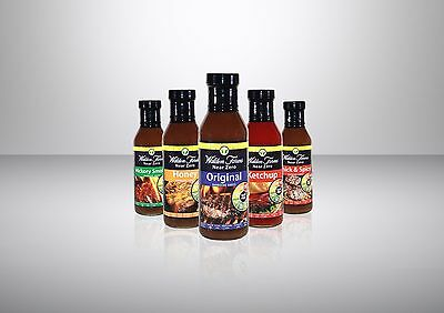 Walden Farms Near Zero Calorie Bbq Sauce - Carb Free - Fat Free - All Flavours