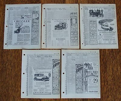 5 - The Pep Boys Manny Moe & Jack 1927-1928 Advertising Proofs