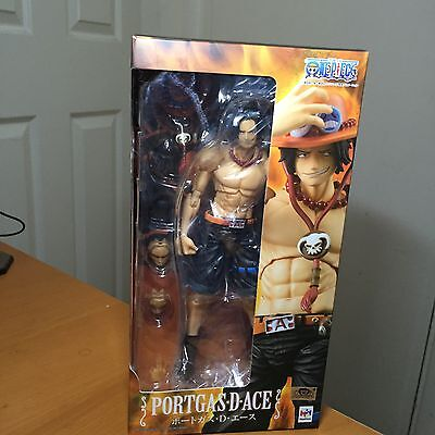 One Piece Megahouse Portgas D Ace Action Figure Variable Action Heroes VAH