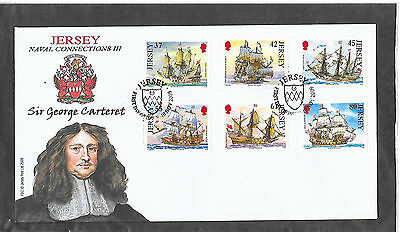 Jersey Fdc Naval Connections  2009 Lot 4
