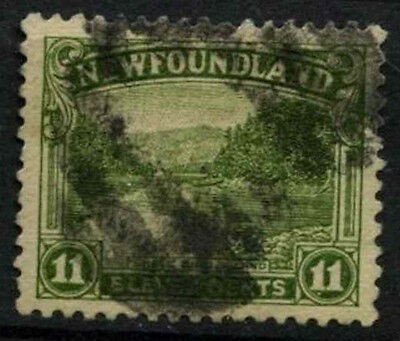 Newfoundland 1923-4 SG#158, 11c Shell Bird Island Used Cat £35 #D44601