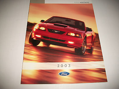 2003 Ford Mustang  & Mustang Gt Cdn.issue Sales Brochure  Clean  No Dealer Stamp