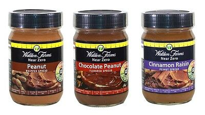 Walden Farms Near Zero Calorie Peanut Spreads-Carb Free-Fat Free-All Flavours