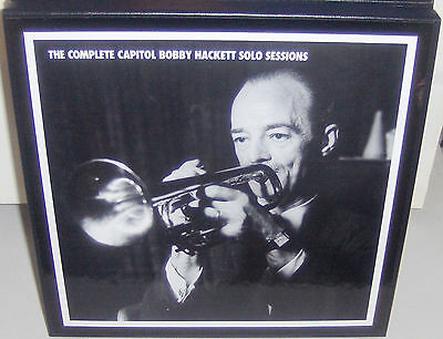 MOSAIC JAZZ MD5-210 CDs: Complete Capitol BOBBY HACKETT Solo Sessions - 2003 NEW