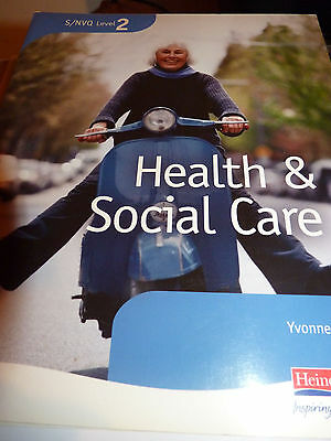 Health & Social Care S/NVQ. Level 2. Level 3.