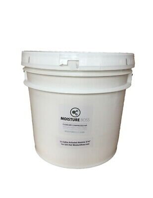 """Activated Alumina, 1/8"""" Desiccant Bead, 25 Lbs. Pail, Air Dryers"""