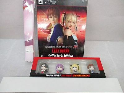 SALE - DEAD OR ALIVE 5 Last Round strongest package PS3 Gamecity Limited Edition