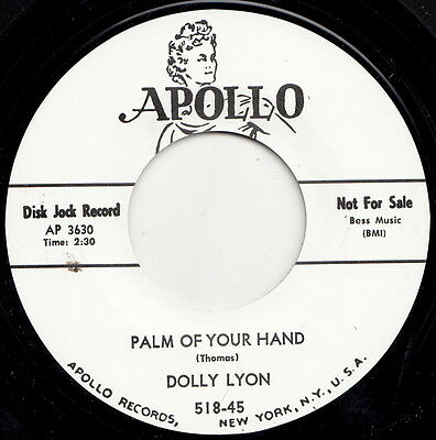 ** Dolly Lyon  Palm Of My Hand  Big Belgian Popcorn Scene Classic!!