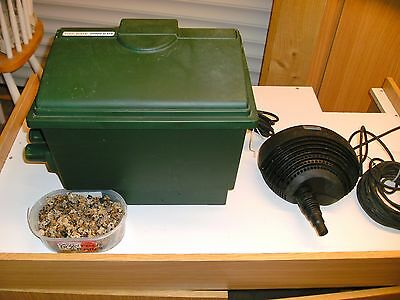 Fishmate 10000 GUV Biological Pond Filter And Oase Pump