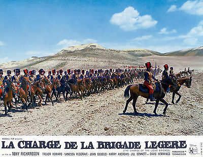 Charge Of The Light Brigade Set Of 12 Sensational 1968 French Photos