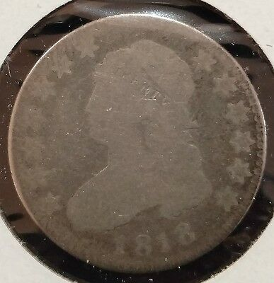 1818 Capped Bust Quarter Silver 25c