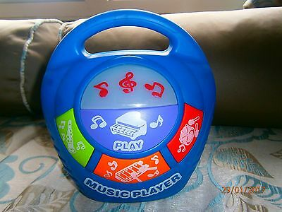 Asda Childs Plastic Musical Player