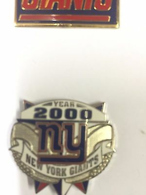 Official NFL New York Giants Pin Badge #3