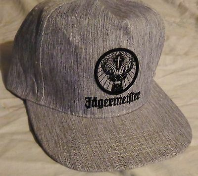 Jagermeister...Baseball style golf hat...Grey...NEW
