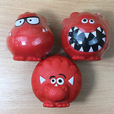 Red Nose Day Comic Relief 2013 set of 3 Dinosaur (Dinosesaur) Noses 2 SEALED #20
