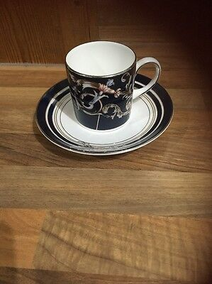 Wedgwood Renaissance Blue Coffee Cup and saucer