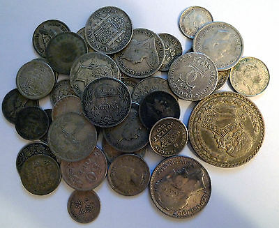 Collection Of Silver World Coin - Over 140 Grams - Coins In Nice Condition