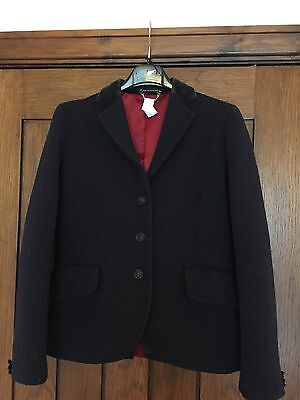 Le Beau Cheval Heavyweight Navy Jacket Size 28