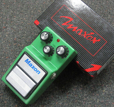 Maxon OD-9 Overdrive Guitar Effects Pedal OD9