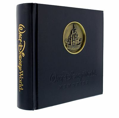 DISNEY WALT DISNEY WORLD Castle Medallion 200 Photo Album W/ Gel Pen New