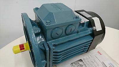 ABB 3 phase 0.75KW 4 pole induction motor **BRAND NEW** 1500rpm 17kg electric