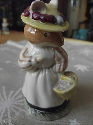 royal doulton brambly hedge figure Lady woodmouse 1st Quality,