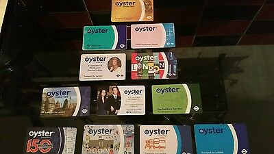 12 Oyster Card Limited Edition. Ideal For Collectors