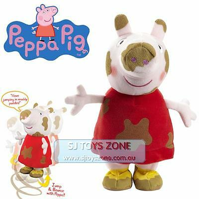 Peppa Pig ABC Character Jump in the Muddy Puddle Plush Stuffed Toy
