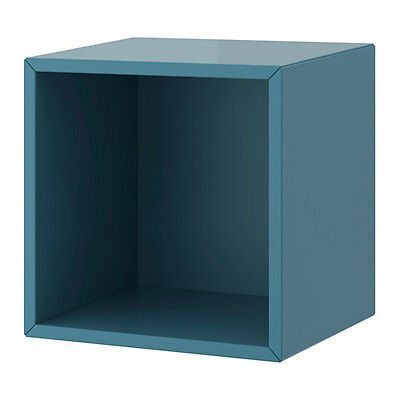 ikea valje wandschrank schrank wand in dunkelgrau 35x35cm. Black Bedroom Furniture Sets. Home Design Ideas
